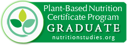 Plant-Based Nutrition Certificate Program Graduate Logo